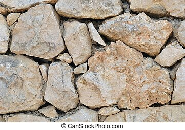 Texture of stonewall for background