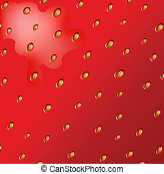 Texture Of Strawberry