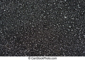 texture of the asphalt in sunny day light