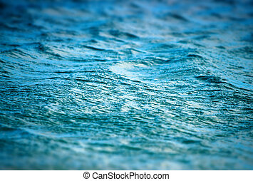 texture of the deep blue sea