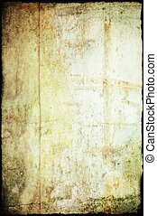 texture of the old sheet of paper