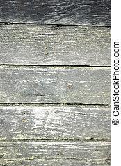 texture of the old wooden bridge