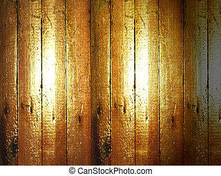 the old wooden floor