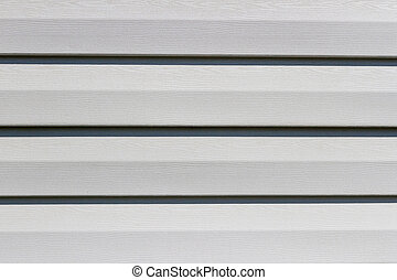 Texture of the plastic siding