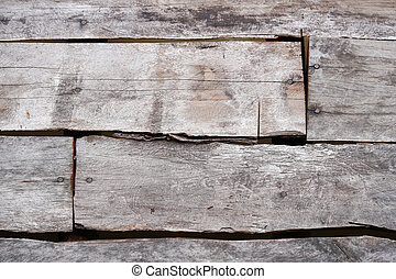 Texture of the wooden wall for background