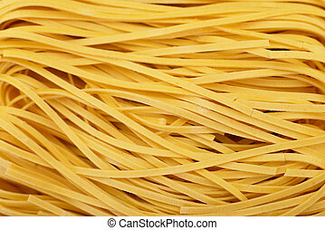 Texture of uncooked vermicelli.