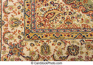 Texture of vitage carpet design - Close up top view.