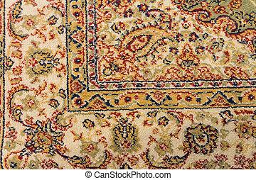 Texture of vitage carpet design - Close up top view.