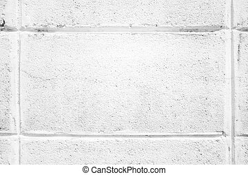 texture of white block on wall
