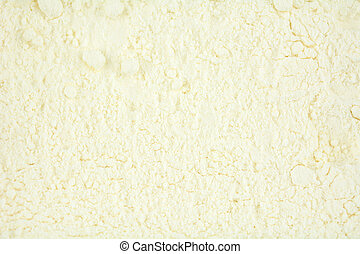 Texture of white powder