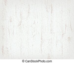 Texture of white wooden background. Craquelure effect