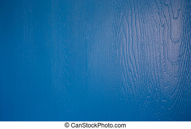 Texture of wood background blue