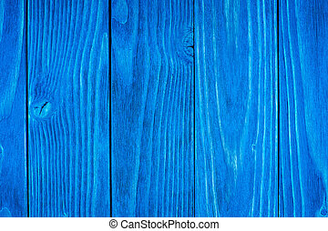 texture of wood blue panel.
