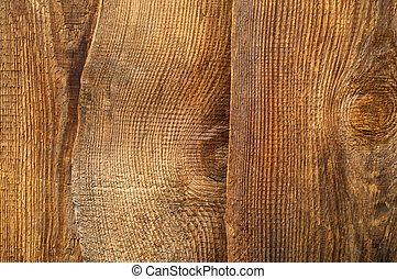 Texture of wooden boards. Close-up