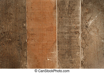 Texture of wooden boards for background