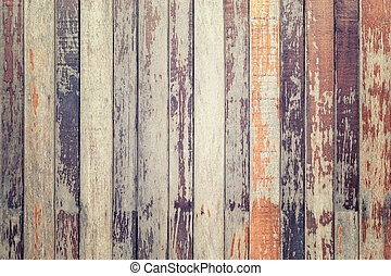 Texture of wooden wall for background