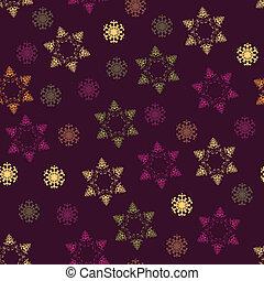 texture., padrão, papel, inverno, seamless