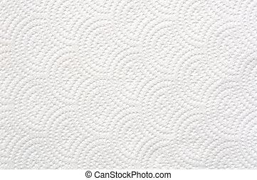 texture, papier soie, blanc