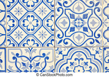 Texture Pattern of Ceramic tile for use as Background