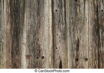 Texture photo of rustic weathered barn wood - Closeup...