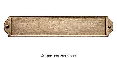 texture, plaque, métal