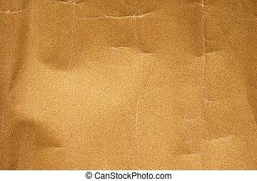 texture), ruga, carta vetrata, fondo, (with