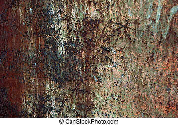 texture rusty iron plate