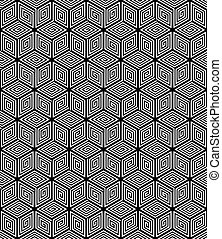 texture., seamless, 幾何学的