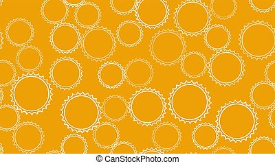 Texture seamless pattern of white round abstract carved ...