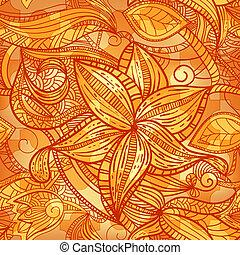 texture, seamless, puzzle, floral, vendange