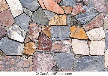 Texture stone