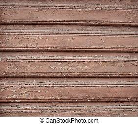 texture, vieux, mur, bois, rouges