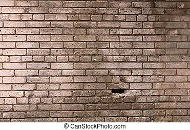 Texture wall of gray brick