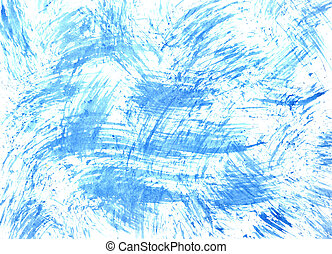 Texture with blue brush strokes