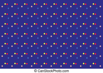 texture with colored dots abstract background. Vector -...