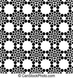 Texture with pattern of circles