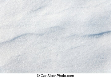 texture with snow dunes