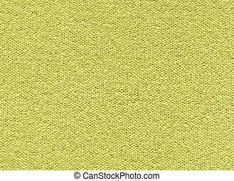Texture yellow-green synthetic fabric