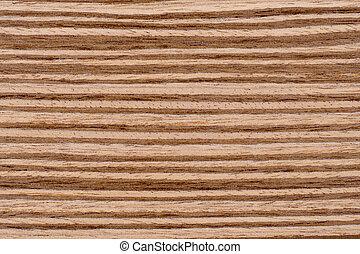 Texture Zebrano Wood Background