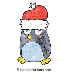 textured, 漫画, ペンギン