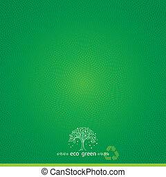 textured, achtergrond, groene