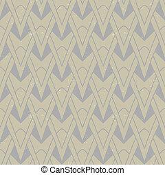 textured art deco pattern with geometrical motifs - organic ...