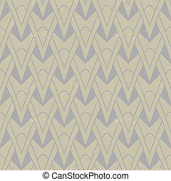 textured art deco pattern with geometrical motifs - organic...