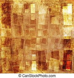 Textured background - Orange textured grunge canvas...