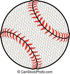 Textured Baseball