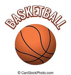 Textured basketball ball