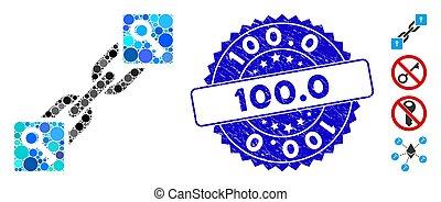 textured, blockchain, llave, 100.0, icono, collage, sello