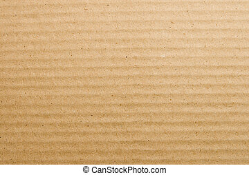 Textured cardboard - Biege textured cardboard background