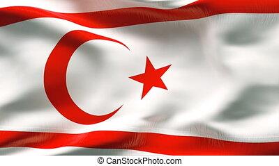 Textured CYPRUS  cotton flag