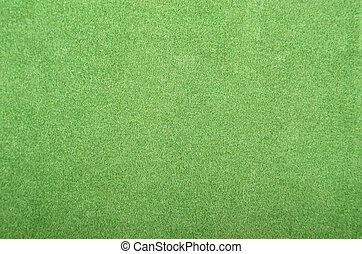 Textured felt background - Close up of green synthetical fet...